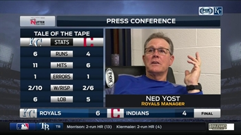 Ned Yost: 'That was a great job of battling back down 4-0'