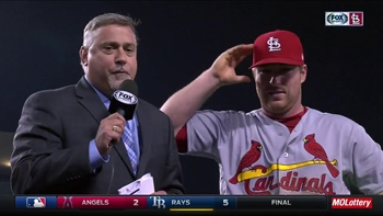 Gyorko on Leake's stellar start: 'He's been impressive'