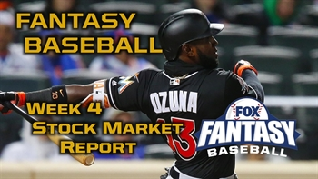 Fantasy Baseball Week 4 Stock Market Report