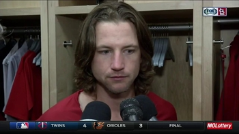 Leake not shocked by his stellar start to the season