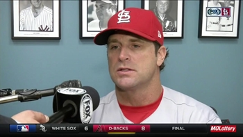 Matheny on Leake: 'Impressive to watch start after start'