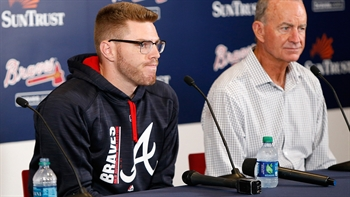 Freddie Freeman on wrist: 'When it happened I knew it wasn't going to be good'