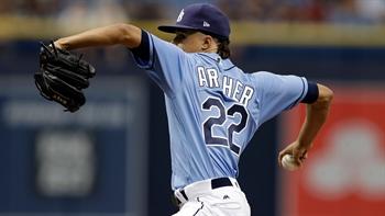 WATCH: Chris Archer strikes out season-high 12 vs. Yankees