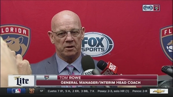Tom Rowe loves seeing young Panthers players step up in finale