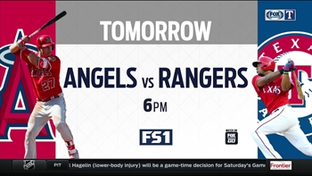 Rangers Live: Pitching Preview vs. Angels | On FS1