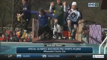 Local teams take the plunge for Special Olympics Wisconsin