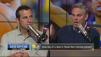 Doug Gottlieb on Warriors chances with Kerr out, Westbrook's playoffs and more | THE HERD