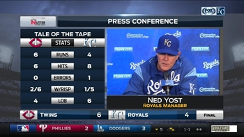 Yost disappointed by loss, encouraged by offense