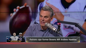 WIll the Patriots make former Browns receiver Andrew Hawkins a star? | THE HERD