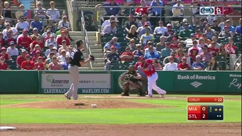 HIGHLIGHTS: Molina drives in two on double to left field