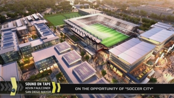 San Diego Mayor seems to be all in on MLS and 'Soccer City'