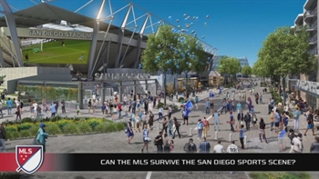 The MLS will be second only to the Padres in San Diego