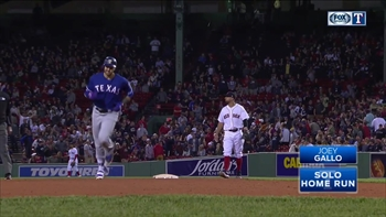WATCH: Joey Gallo hits solo home run in 8th inning