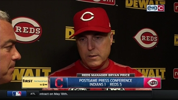 Price explains decision to utilize squeeze in 7th inning