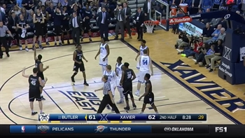 Top Play by Kamar Baldwin vs. the Xavier Musketeers