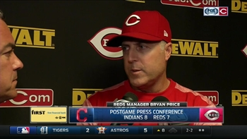 Price: Reds aren't a team to take lightly
