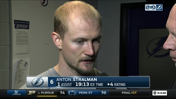 Anton Stralman: 'It was one of our better games'