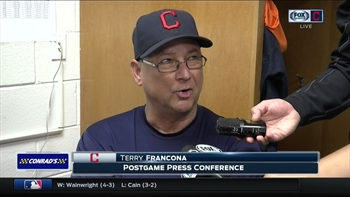 Indians skipper Terry Francona talks about weekend vs. Astros & Gomes big game