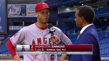 Simmons 'doing whatever it takes' to help the Angels