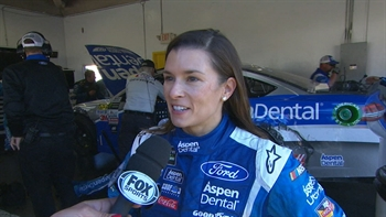 Danica Patrick Post-Wreck Interview | 2017 DAYTONA 500 | FOX NASCAR
