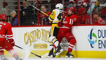 Hurricanes LIVE To Go: Canes fall far behind and can't catch up to the Penguins