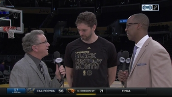 Pau Gasol perfect from 3 in Spurs win over LA