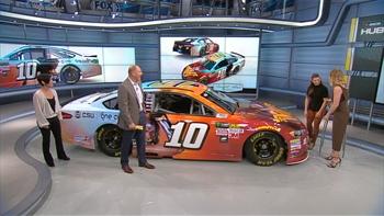 Danica Patrick Reveals Wonder Woman/One Cure Paint Scheme   NASCAR RACE HUB