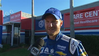 Dale Earnhardt Jr. Post-Wreck Interview | 2017 DAYTONA 500 | NASCAR ON FOX
