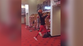 Kansas City Chiefs kicker shows off his massive ups… or lack thereof