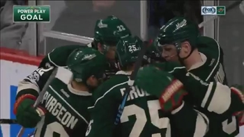 WATCH: Granlund scores twice in Wild's loss