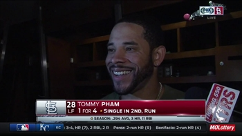 Tommy Pham debates whether his spectacular grab was actually a 'catch and dive""