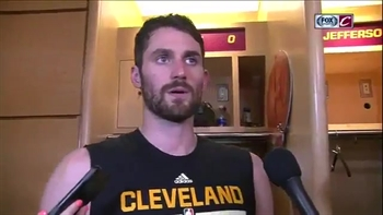 Kevin Love notches playoff career-high 17 rebounds