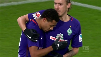 Serge Gnabry nets a brace for Werder Bremen | 2016-17 Bundesliga Highlights