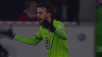 Borja Mayoral pulls one back for Wolfsburg | 2016-17 Bundesliga Highlights