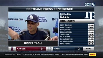 Kevin Cash breaking down loss: 'The walks are kinda what stung us'