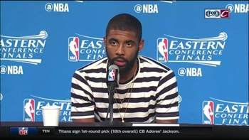 Kyrie describes his mindset during 42-point performance