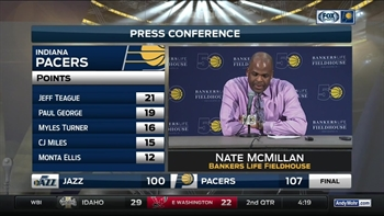 McMillan on Pacers win: 'We showed some grit, and we scraped'