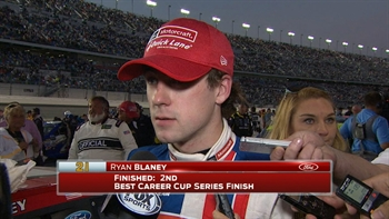 Ryan Blaney Talks Runner-Up Finish | 2017 DAYTONA 500 | FOX NASCAR