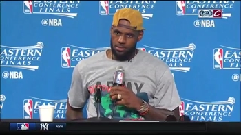 LeBron James' full postgame comments following Game 4
