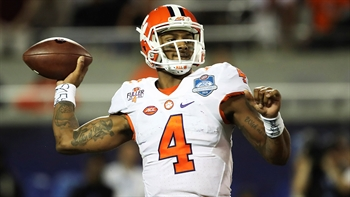 Which QB goes first in the NFL Draft - Mitch Trubisky or Deshaun Watson?