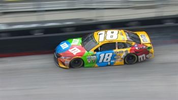 Kyle Busch Blows Right-Front Tire | 2017 BRISTOL | FOX NASCAR