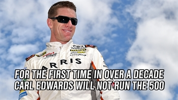 What is Carl Edwards Doing Instead of Racing?