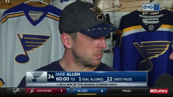 Allen on his 30th win of the year: 'It was a big win for me'