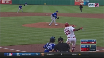 WATCH: Dexter Fowler hits his third homer of the season