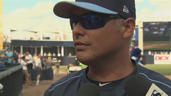 Kevin Cash on Matt Andriese's outing, Daniel Robertson in LF