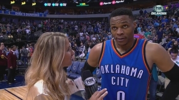 Russell Westbrook on hitting the game-winner
