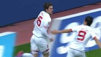 Stefan Bell goal for Mainz against Bayer Leverkusen | 2016-17 Bundesliga Highlights
