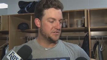 Matt Andriese: I struggled to command the zone today