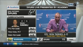 Manu Ginobili: 'I feel like I can still play'