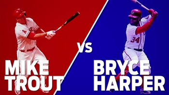 Trout vs. Harper: There's one clear winner